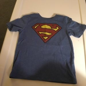 Old Navy Shirts & Tops - Old Navy Blue Superman Short Sleeve T-shirt  4T